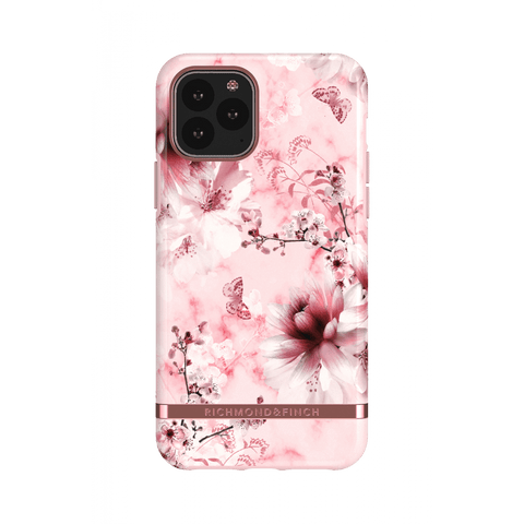 (Clearance) Richmond & Finch Pink Marble Floral IPhone 11 Pro Case -  Rose Gold Details