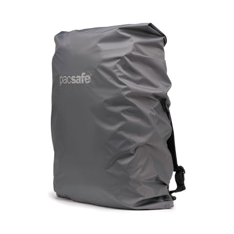 Pacsafe Large Backpack Rain Cover - Dark Frost Grey