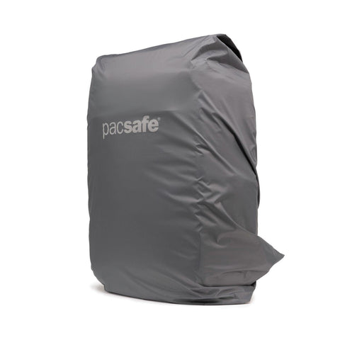 Pacsafe Medium Backpack Rain Cover - Dark Frost Grey