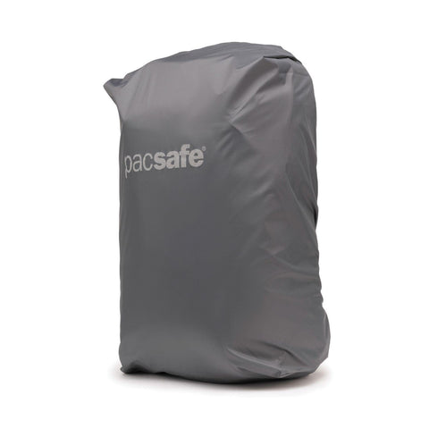 Pacsafe Small Backpack Rain Cover - Dark Frost Grey