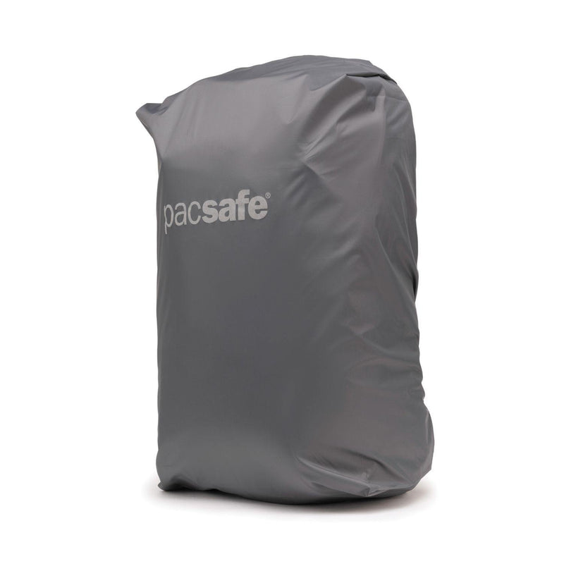 Pacsafe Small Backpack Rain Cover - Dark Frost Grey - Oribags.com