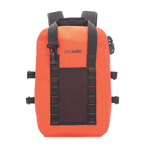 Pacsafe Dry 25L Anti-Theft Backpack - Orange