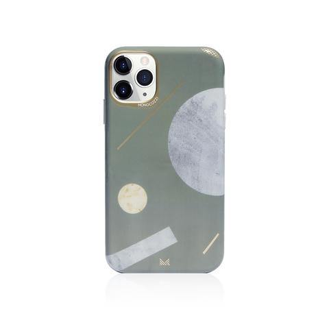 (Clearance) Monocozzi Pattern Lab|Soft TPU Bumper Cover for iPhone 11 Pro - Shape - Oribags.com
