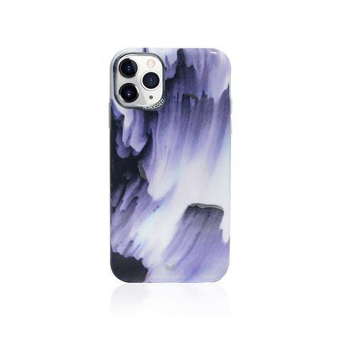(Promo) Monocozzi Pattern Lab|Soft TPU Bumper Cover for iPhone 11 Pro - Watery
