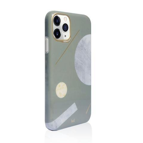 MONOCOZZI Pattern Lab|Soft TPU Bumper Cover for iPhone 11 Pro Max - Shape