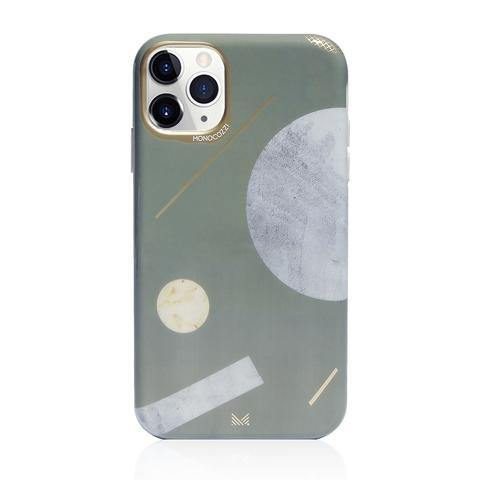 (Clearance) Monocozzi Pattern Lab|Soft TPU Bumper Cover for iPhone 11 Pro Max - Shape - Oribags.com
