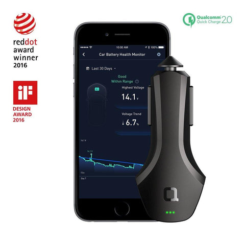 ZUS Smart Car Charger (Qualcomm Quick Charge Edition)