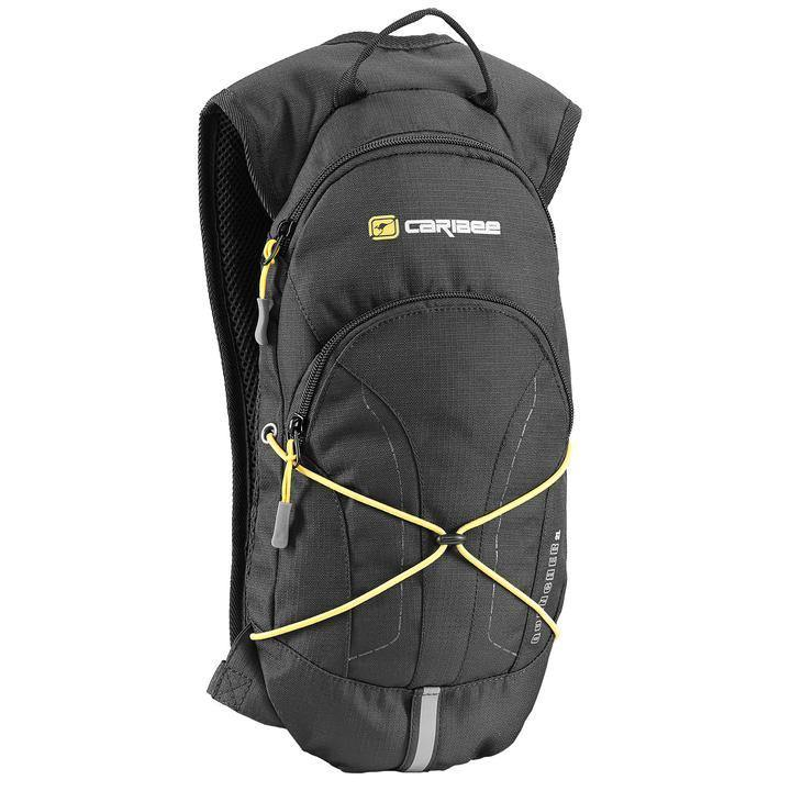 Caribee Quencher 2L Hydration Backpack - Black - Oribags.com