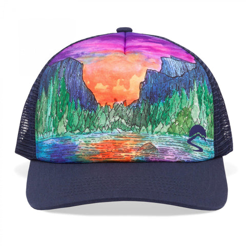 SUNDAY AFTERNOONS Artist Series Trucker Cap - Range of Light