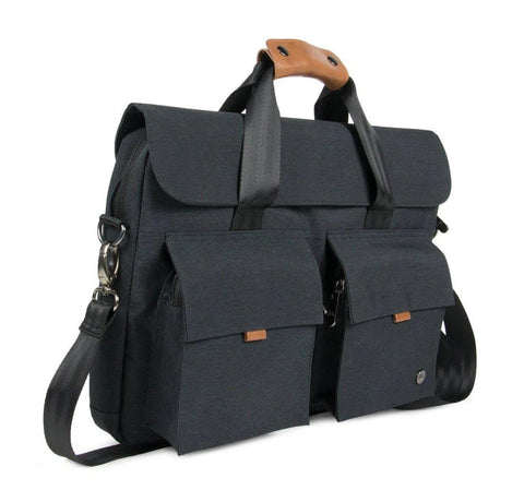 "PKG Richmond Shoulder Bag 10L (Fits 16"" laptop) - Dark Grey"