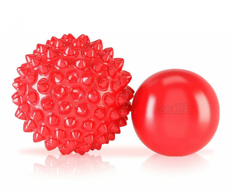 RockTape RockBalls Twin Pack Precision Spikey & Smooth Trigger Ball Mobility Set - Oribags.com