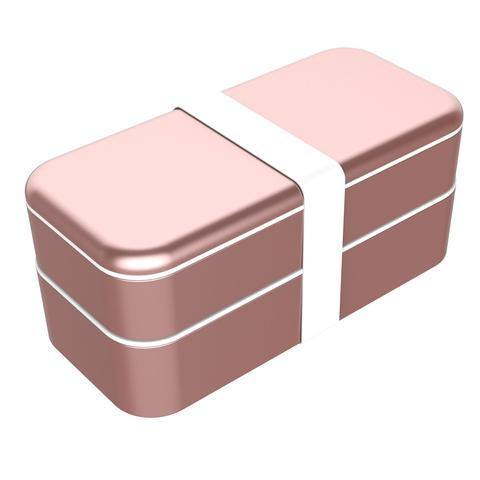 (Clearance) BentoStack Accessories Travel Case & Workspace Organizer for Apple Accessories - Rose Gold - Oribags.com