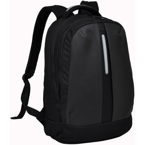 Bagman S02-157LAP-07 Laptop Backpack - Black Grey - Oribags Sdn Bhd