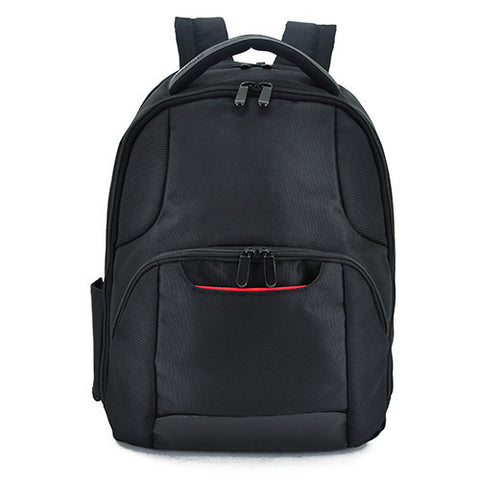 Bagman S02-262LAP-01 Laptop Backpack - Black/Red - oribags2