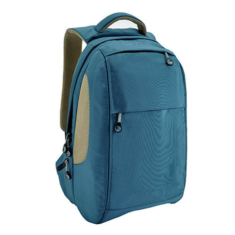 Bagman S02-268LAP-13 Laptop Backpack - Turquoise - Oribags Sdn Bhd