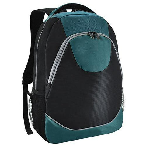 Bagman S02-298LAP-13 Laptop Backpack - Turquoise - Oribags Sdn Bhd