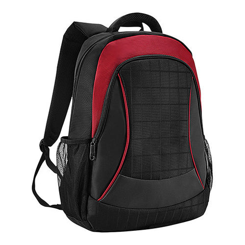 Bagman S02-462LAP-03 Laptop Backpack - Red - oribags2
