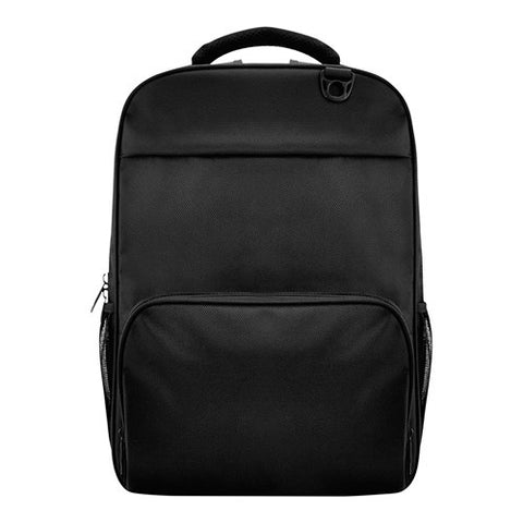 Bagman S02-522LAP-01 Laptop Backpack - Black - oribags2