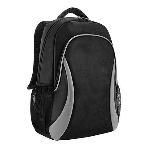 Bagman S02-678LAP-07 Laptop Backpack - Black/Grey