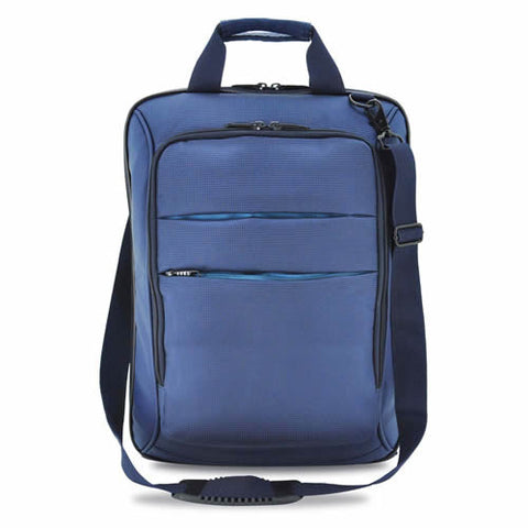 Bagman S06-019CON-02 Vertical Laptop Carrier Bag - Navy Blue - Oribags Sdn Bhd