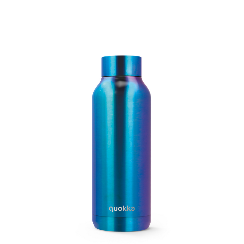 Quokka Stainless Steel Bottle Solid 510ML - Neo Chrome - Oribags.com