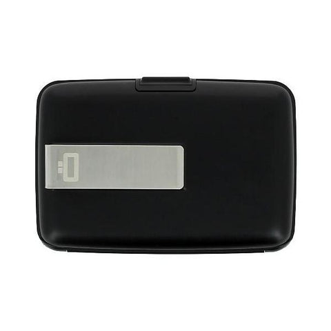 Ogon Stockholm Money Clip Card Case RFID Safe - Black