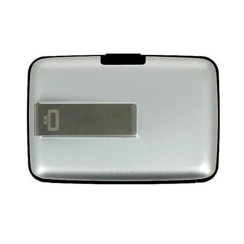 Ogon Stockholm Money Clip Card Case RFID Safe - Silver
