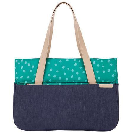 "STM Grace 13"" Deluxe Laptop Sleeve - Teal Dot/Night Sky"