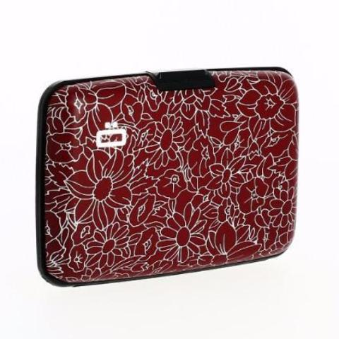 Ogon Stockholm Card Case RFID Safe - Flowers Print
