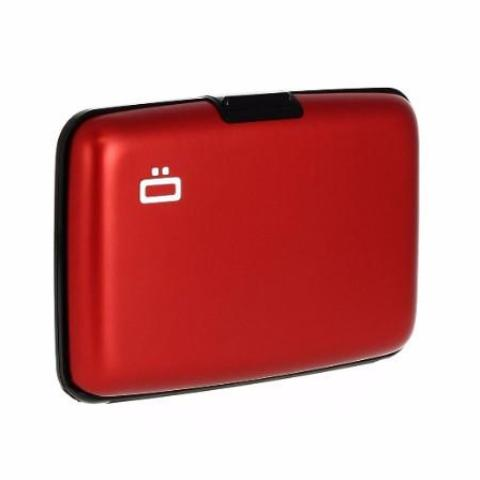 Ogon Stockholm Card Case RFID Safe - Red