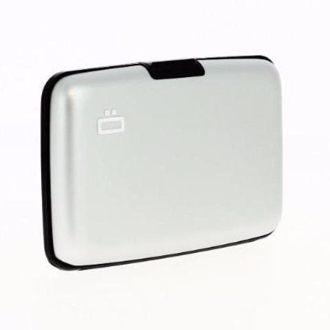 Ogon Stockholm Card Case RFID Safe - Silver