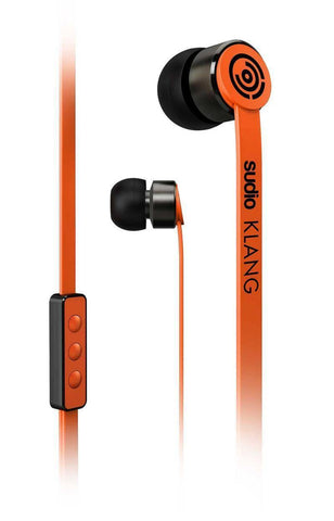 (Clearance) Sudio Klang In Ear Headphone - Orange