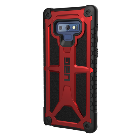 UAG Monarch Series Galaxy Note 9 Case - Crimson