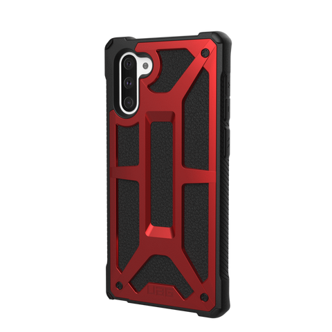(Clearance) UAG Monarch Series Galaxy Note 10 Case - Crimson