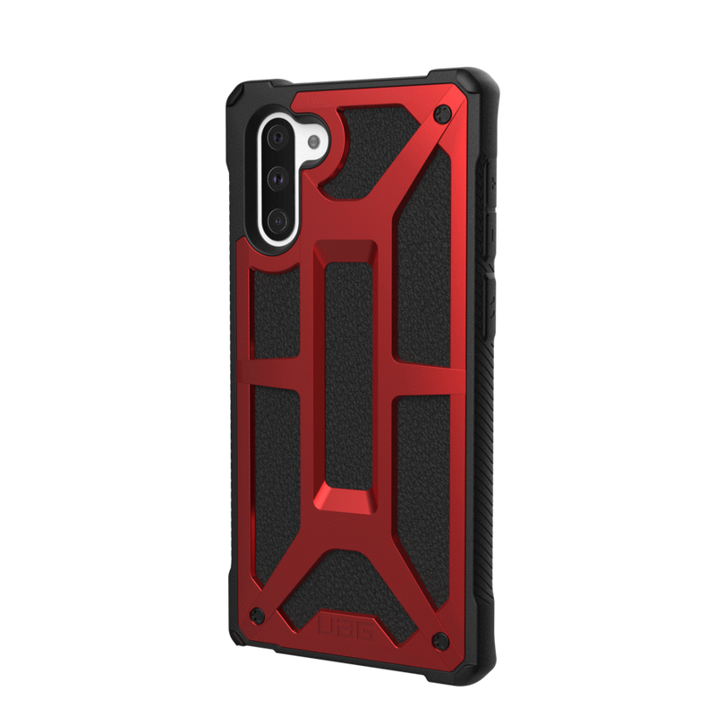 (Clearance) UAG Monarch Series Galaxy Note 10 Case - Crimson - Oribags.com
