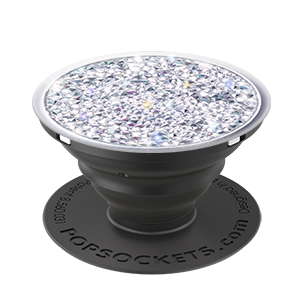 Popsockets Limited Edition Crystals From Swarovski - Silver Crystal