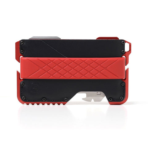 Dango Products T01 Tactical Wallet - Redline / Jet Black / Red