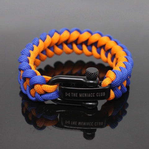 The Meniacc Jawbone Bracelet - Blue Orange
