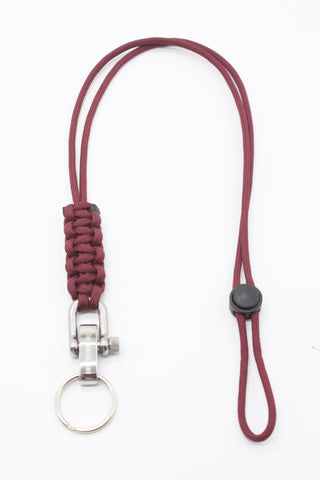 The Meniacc Lanyard - Maroon