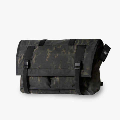 Mission Workshop The Shed 32L Messenger w/ Arkiv Closures - Black Camo