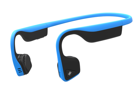 AfterShokz Trekz Titanium IP55 Sweat Resistance Wireless Bone Conduction Headphone - Ocean Blue