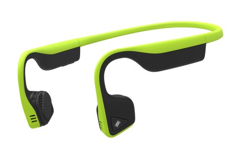 AfterShokz Trekz Titanium IP55 Sweat Resistance Wireless Bone Conduction Headphone - Ivy Green