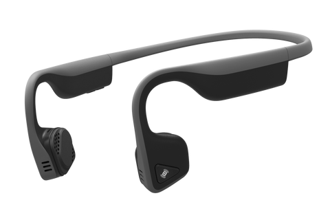 AfterShokz Trekz Titanium IP55 Sweat Resistance Wireless Bone Conduction Headphone - Slate Grey