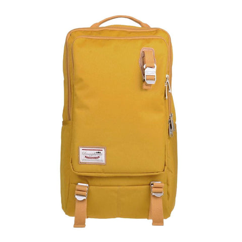 Doughnut Toast Backpack - Mustard