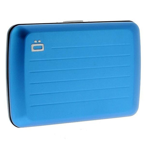 Ogon Stockholm V2 Card Case RFID Safe - Blue