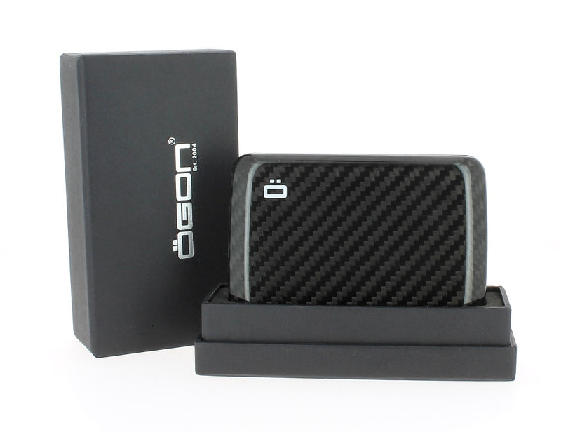 Ogon Stockholm V2 Genuine Carbon Fibre Card Case - Serge