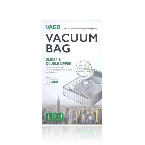 (Promo) VAGO Vacuum Bag for Travel Compressor - Large Size ( 70 x 100 cm )