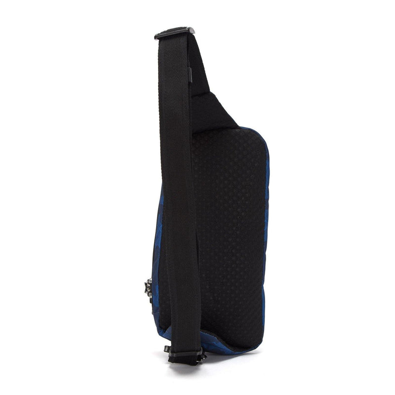 Pacsafe Vibe 150 Anti-Theft Cross Body Pack - Blue Camo - Oribags.com