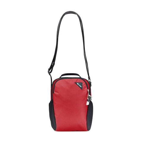 Pacsafe Vibe 200 Anti-Theft Compact Travel Shoulder Bag - Goji Berry
