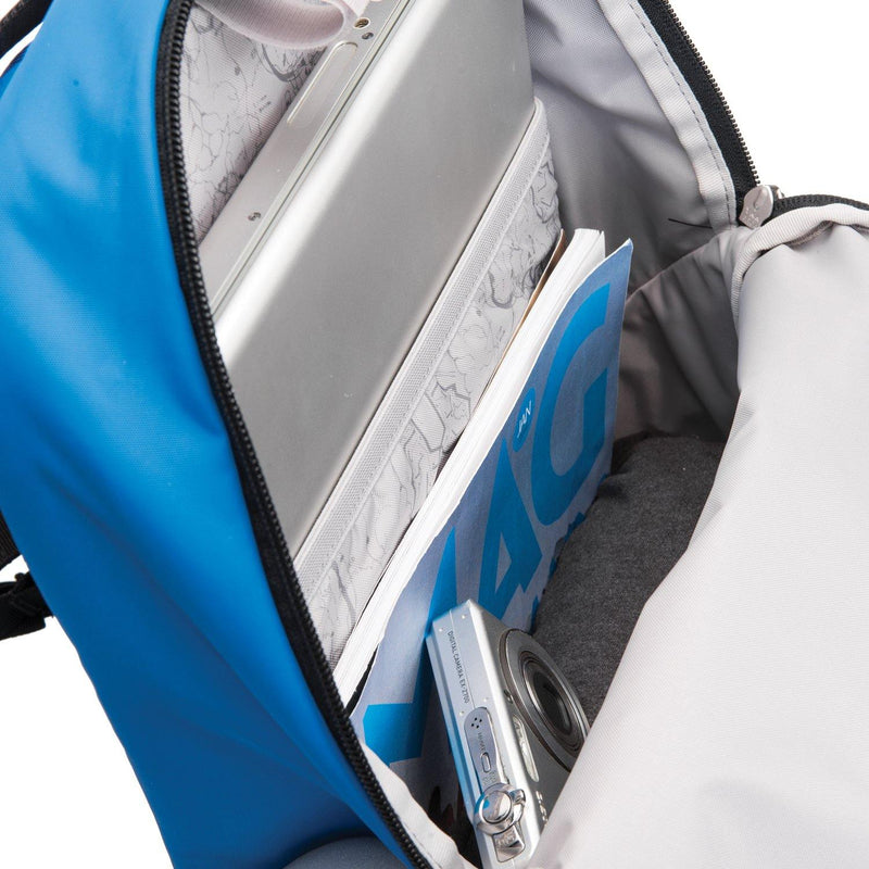 Pacsafe Vibe 20 Anti-Theft Backpack - Blue - Oribags.com